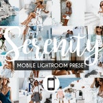 6 Mobile Lightroom Presets SERENITY / Instagram Presets / Lightroom Mobile Presets/ Blogger Presets/ Photo Filter/ Travel Lifestyle Presets
