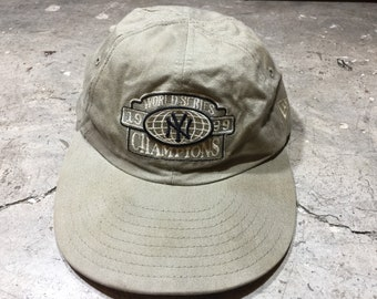 6d991cd3ae8 Vintage MLB New York YanKees 1999 World Series Champions New Era Hats