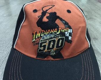 01fce36cb3e72 Vintage Indiana Jones Strapback Cap