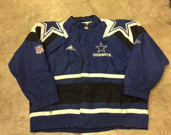 Vintage NFL Cowboys jacket winter Size L b20aaa6a9