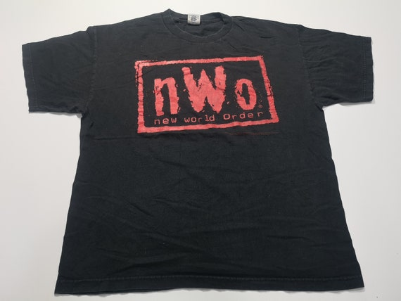 Vintage NWO New World Order 90's T-Shirt Size XL