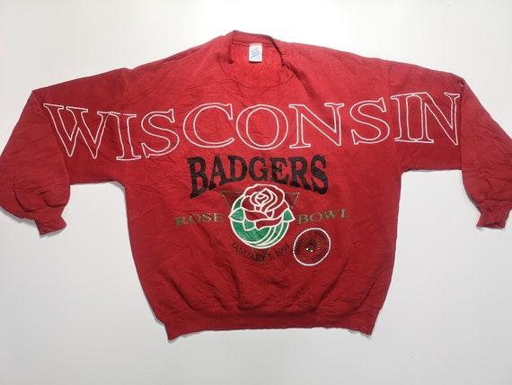 Vintage Wisconsin Badgers 90's Sweatshirt Size XL