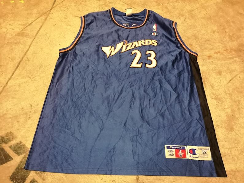 huge selection of 008d4 25e97 Vintage Wizards Jersey NBA Size XXL