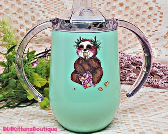 Trippy Shaggy the Stoner Sloth Adult Sippy Cup ABDL / DDLG