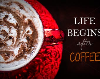 Mocha, Coffee, Photography Print, by BPhotography & BMusedArt, mocha, wall art, photos, photography, print