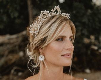 Swann Bridal Headband