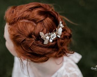 Osmane bridal comb