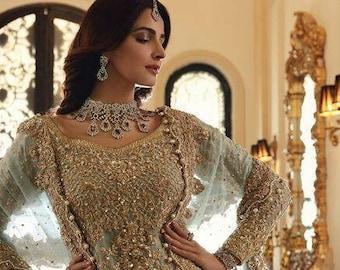 Beautiful Valima Reception Pakistani Bridal Dress, Pakistani /Indian /Bangali