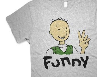 ff422b88 Doug Funny 90's Peace Premium Unisex T shirt