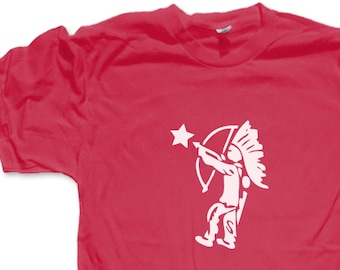 20d53596 90s Tootsie Pop Indian Shooting Star T-shirt