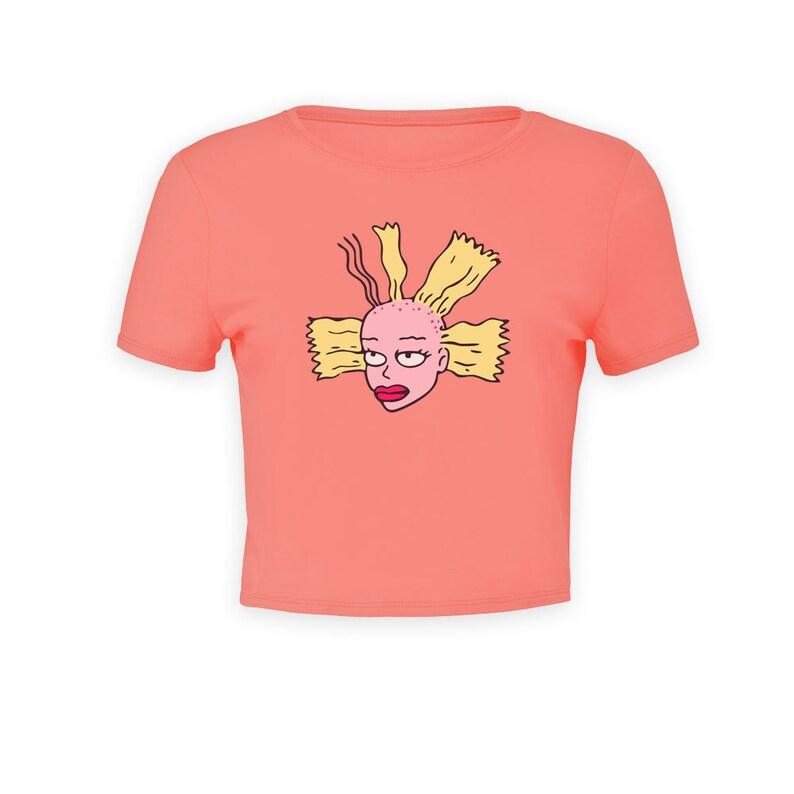 a6b924de 90s Rugrats Cynthia Doll Womens Premium Crop Top Shirt | Etsy