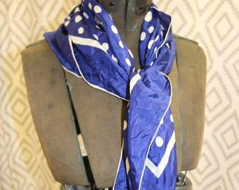 Kimball Silk Blue Scarf