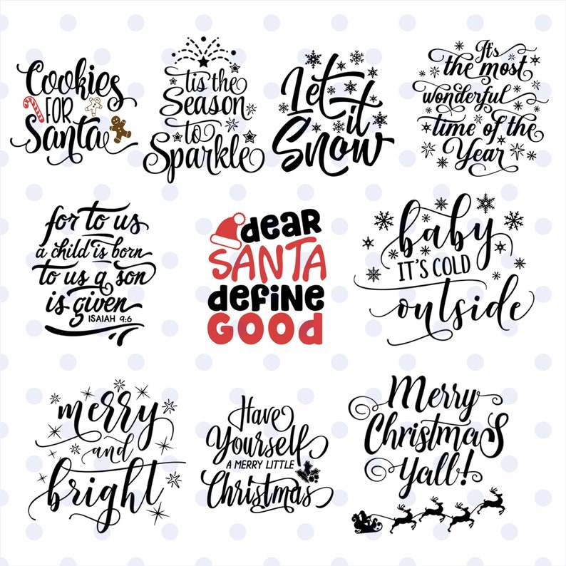 Christmas Quotes Svg.Merry Christmas Quotes Svg Merry Christmas Svg Merry Christmas Bundle Shirt Svg Merry Christmas Monogram Svg File Svg Dxf Eps Png Vector