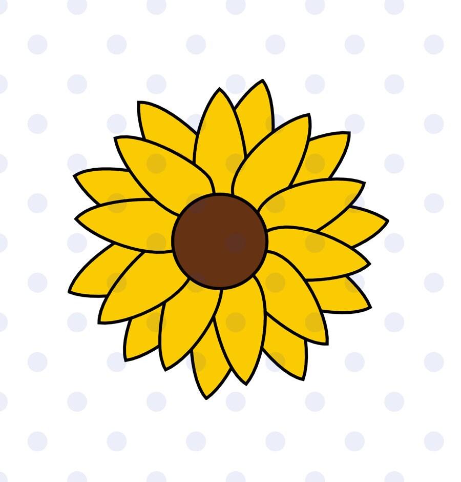Sunflower sunflower svg sunflower clipart sun svg flower ...