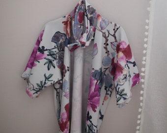 Floral Toddler Kimono