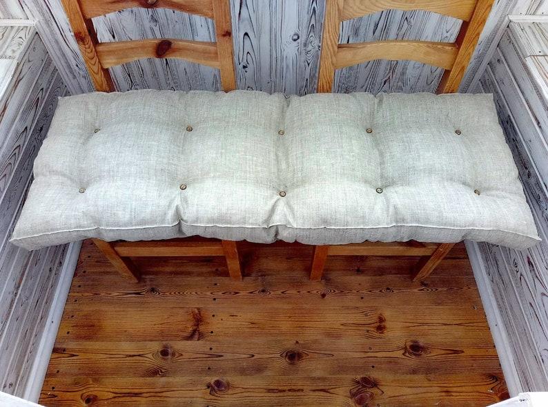 Dining chair pad, custom chair cushion, bench cushion, seat pads, kitchen  chair pads