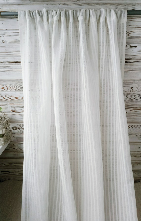 Kitchen curtains, linen curtains panel, farmhouse curtains panels, linen  cafe curtains, rustic curtains, country curtains