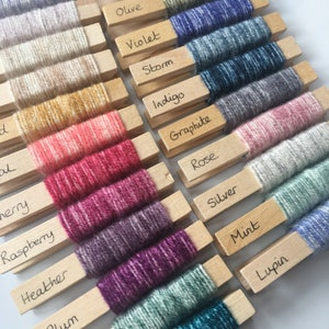 Stylecraft Special DK Aran Chunky set of 94 yarn pegs including 2019 new colours