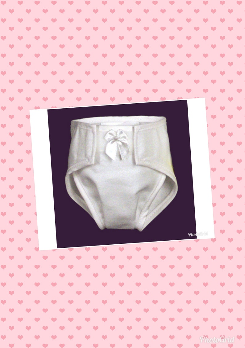 Baby Toy Doll Reusable Paper Diaper 18 inch Reborn Diaper Underpants Outfit