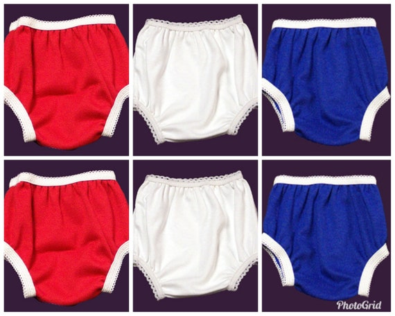 """1 PANTY BLOOMERS FIT 14-18/"""" CPK CABBAGE PATCH,18/"""" AMERICAN GIRL DOLL BITTY BABY"""