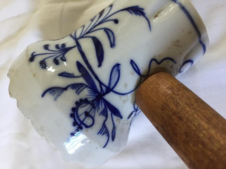 Meissen Wooden handle meat mallet