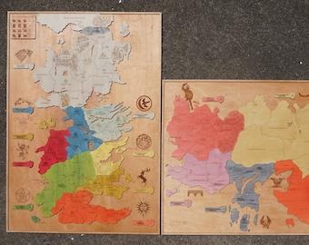 Westeros essos map | Etsy