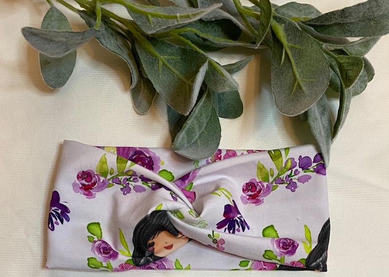 Selena Shorties with flowers /& Twisted Headband