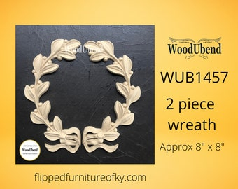 """Pack of TWO Wreaths WUB1457 20.5x20.5cm (approx 8"""" x 8"""")"""