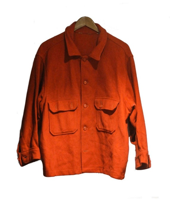 1950's Boy Scouts Of America Wool Shirt Jacket