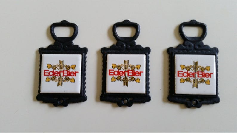 Duvel Beer Advertising Metal Keyring Bottle Opener