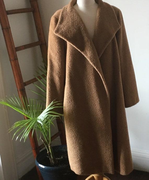 Vintage/ Iconic Max Mara/ Brown/ Teddy Bear Coat/
