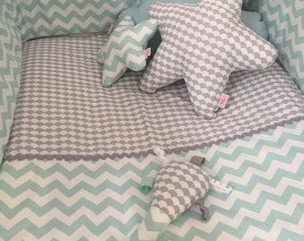 Baby Linen Cot Bed