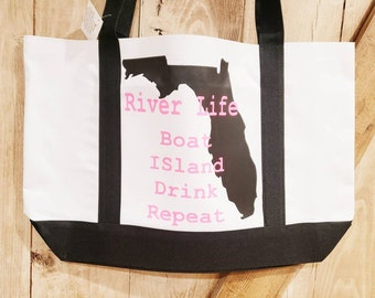 River Phoenix rock rebel Shopping Bag Natural Cotton Beige Gift Bag