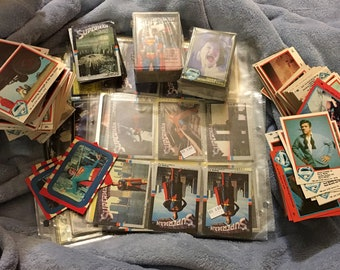 Superman And Superman 3 Assorted Loose And Sets Trading Cards