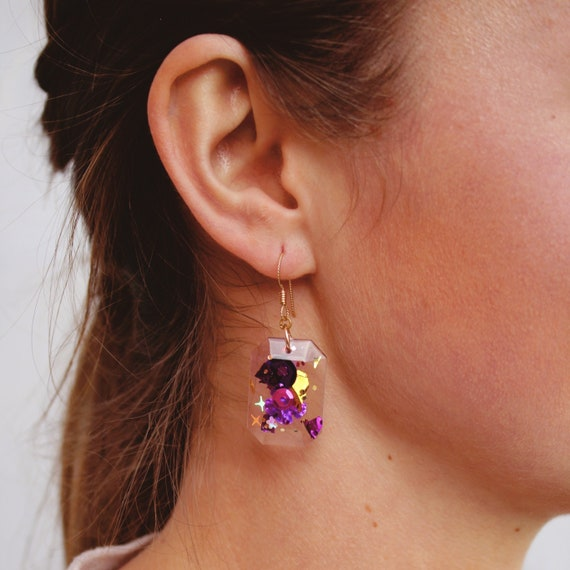 Karen Earrings |  Kaleidoscope x Coco's Musings Collection - Made To Order