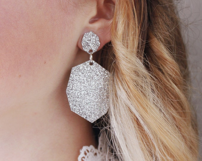 Featured listing image: Edith Earrings | Silver