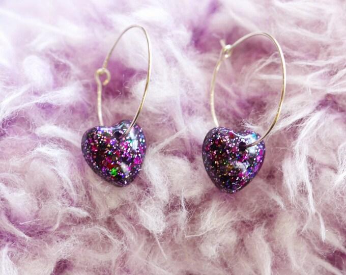 Featured listing image: Radiant Collection: Venus Hoop Earrings