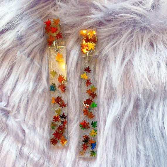 Olivia Earrings | Leaves
