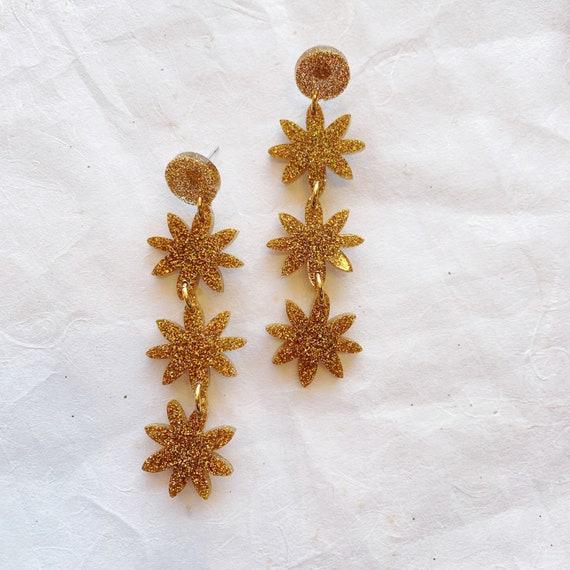Josephine Earrings   Golden Hour - Made To Order