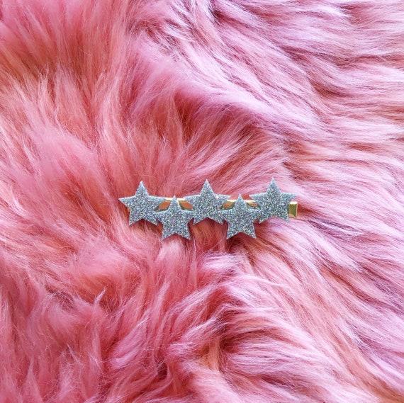 Bess Hair Clip | Solid Glitter