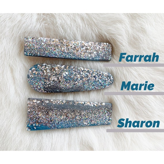 Silver Linings Hair Clips