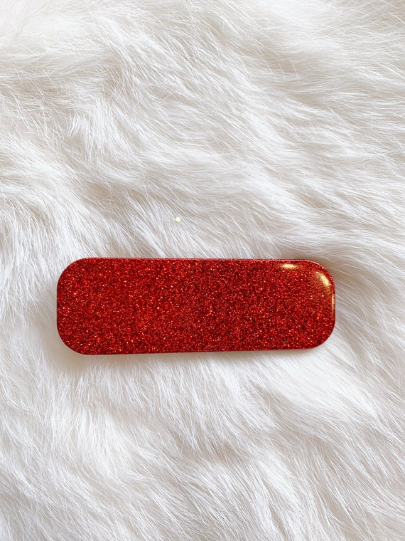 Marilyn Hair Clip | Solid Glitter