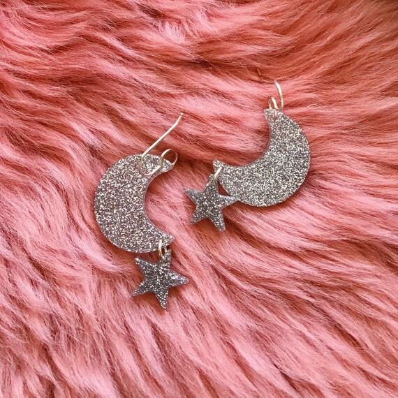 Eartha Earrings | Silver