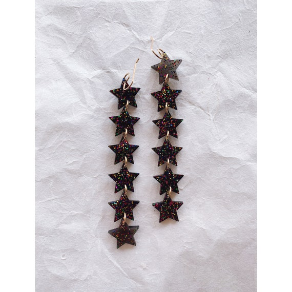 Anna Earrings | Celebrate Noir - Made To Order