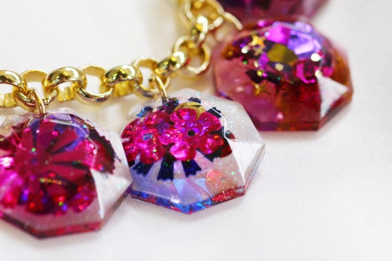Mary Charm Necklace |  Kaleidoscope x Coco's Musings Collection - Made To Order