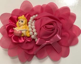 Aurora Sleeping Beauty Hair Bow