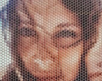 Customizable Mosaic Tile 36''x40''