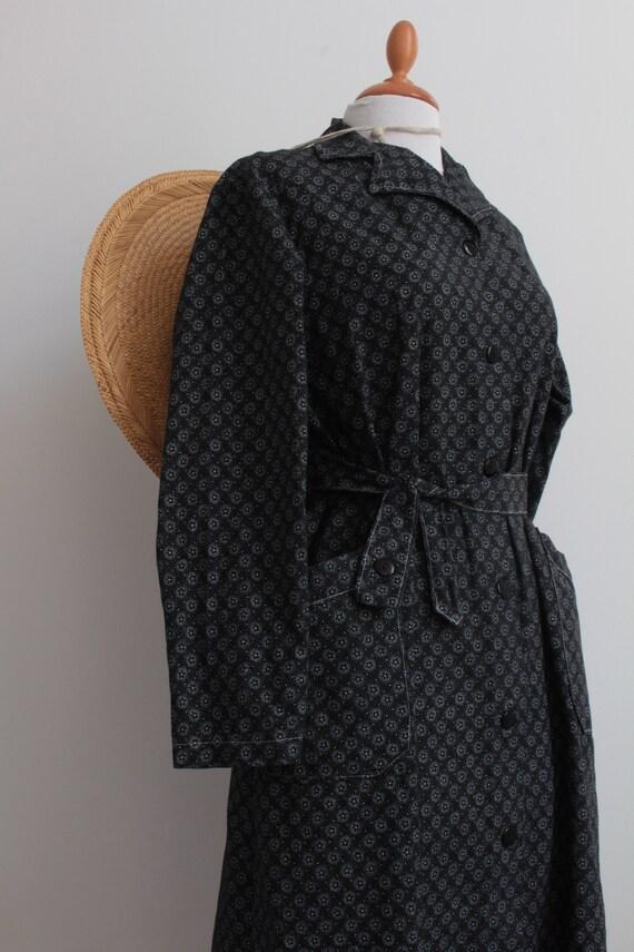 French vintage work dress / work coat / workwear /