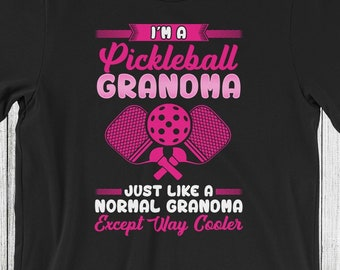 852fab6ca3 Pickleball Grandma T-Shirt | Funny Pickleball Shirt | Granny | Pickleball  Gift | Pickleball Gift for Grandma