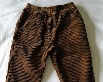 Vintage Goodlad Brown Corduroy Pants